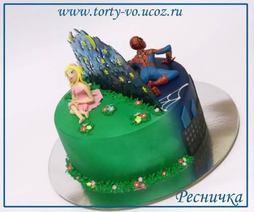 Фото рецепт торт близнец