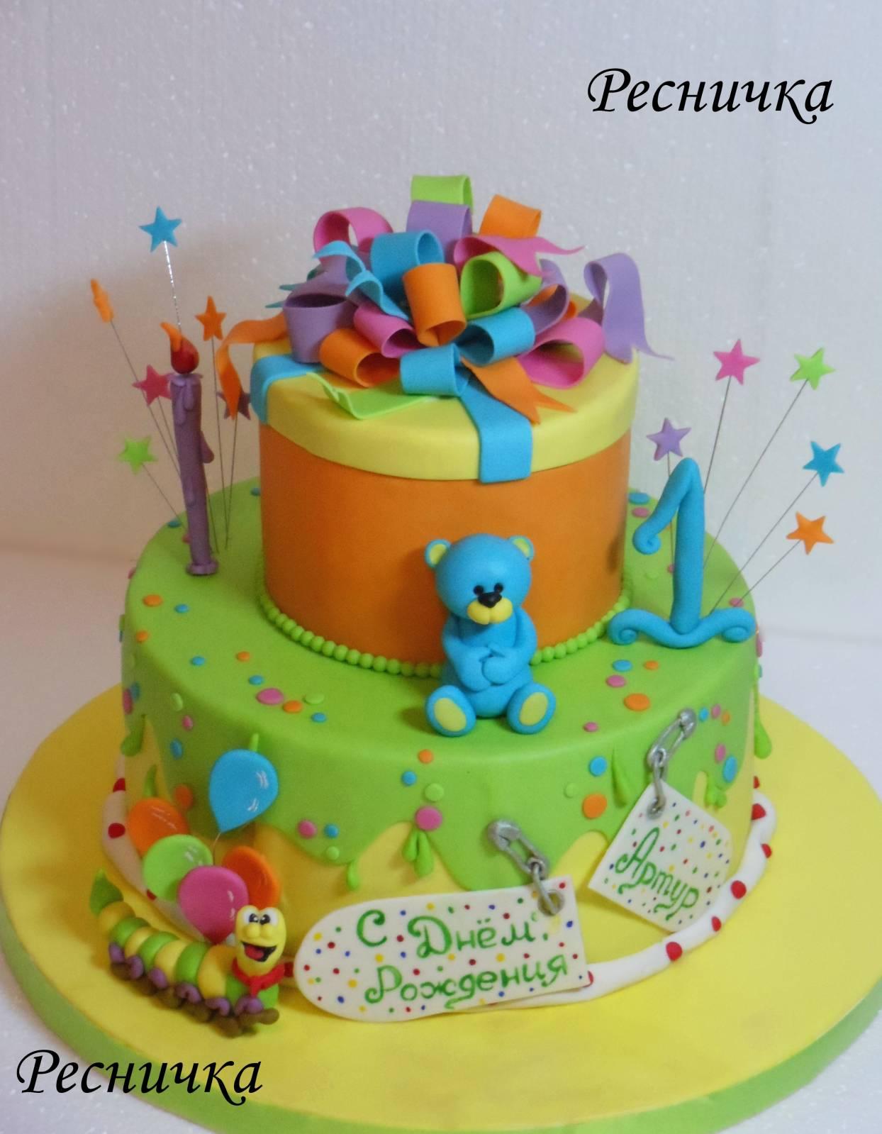 Торты для самых маленьких_5.  Изготовление тортов в Одессе - фото.  Тортики Одесса заказать.  Торт на заказ в Одессе.